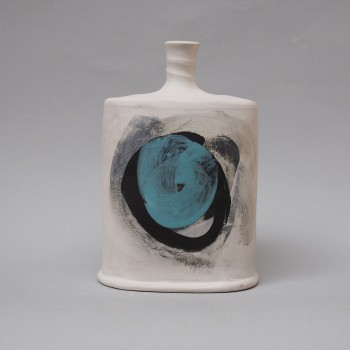 Storm bottle medium with turquoise